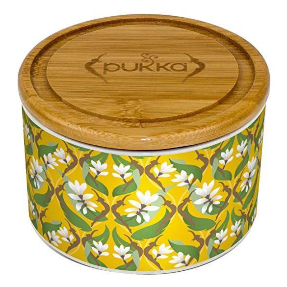 Pukka kerámia doboz 10 db Kurkuma teával
