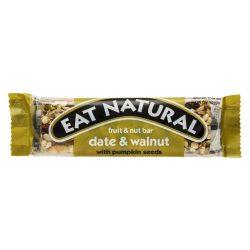 Eat Natural gluténmentes müzliszelet - datolya, dió, tökmag