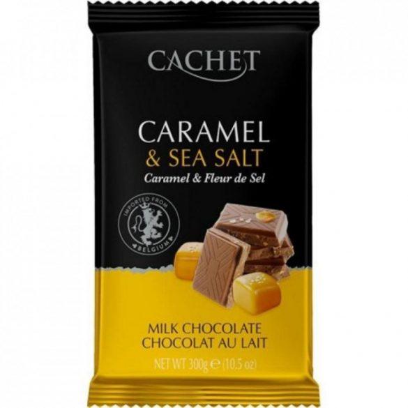 Cachet tejcsokoládé karamell darabokkal és tengeri sóval 300g