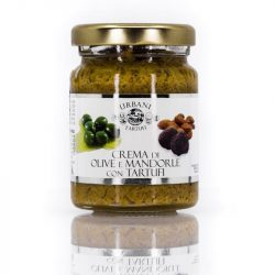 Urbani mandulás olívabogyós szarvasgombás krém