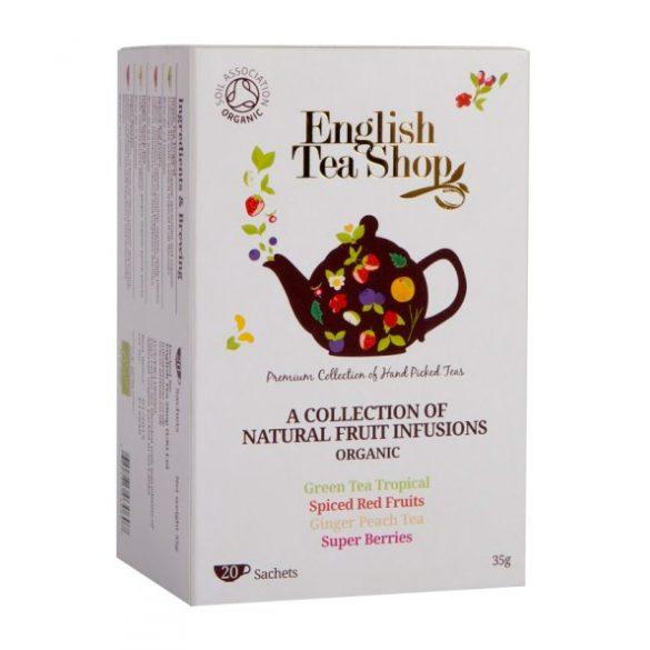English Tea Shop bio gyümölcstea válogatás