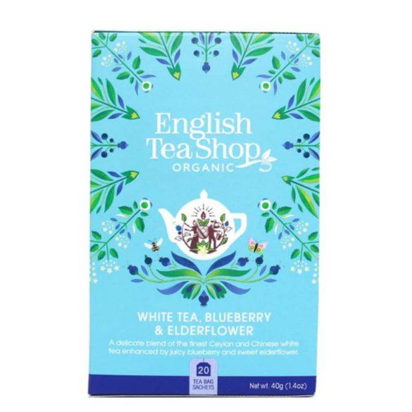 English Tea Shop bio tőzegáfonyás vaníliás tea