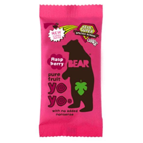 Bear yoyo málnás gyümölcsös tekercs