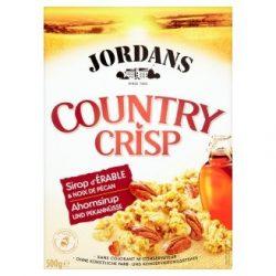 Jordans Country Crisp-Juharszirupos müzli