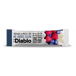 Diablo cukormentes erdei gyümölcsös müzliszelet joghurtos bevonattal