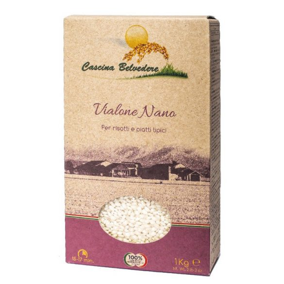 C. Belvedere vialone nano rizs 1kg