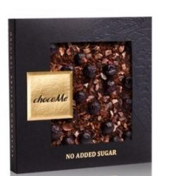 chocoMe cukormentes kávés étcsokoládé
