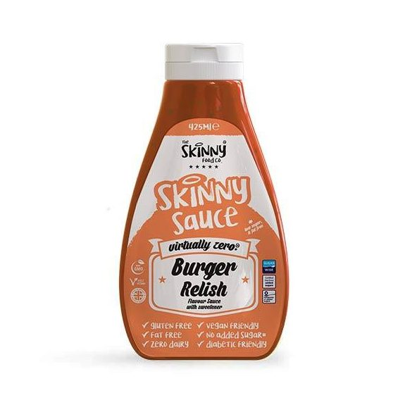 Skinny cukormentes burger szósz