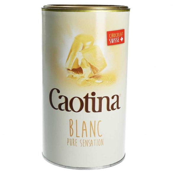 Caotina fehércsokoládés forrócsoki por
