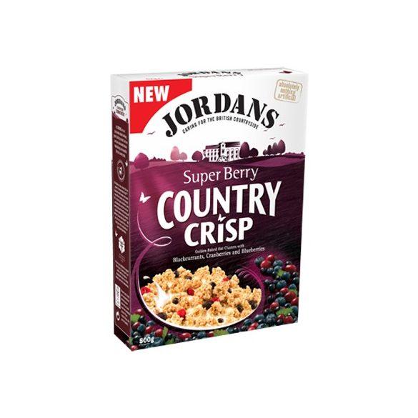 Jordans Country Crisp- Super Berry müzli