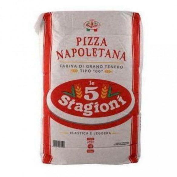 Pizzaliszt Napoletana  5 Stagioni
