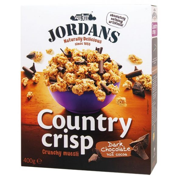 Jordans Country Crisp-Étcsokoládés müzli