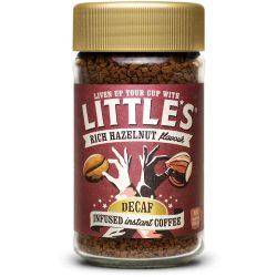Little's instant koffeinmentes mogyorós kávé