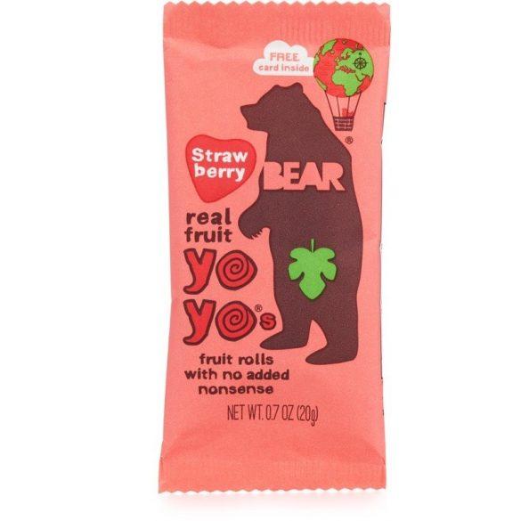 Bear yoyo epres gyümölcsös tekercs
