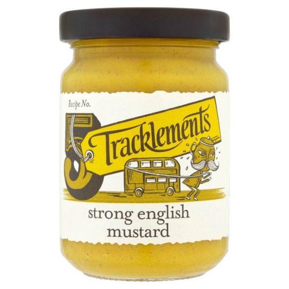 Tracklements csípős angol mustár