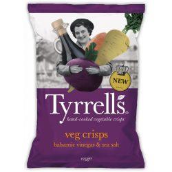 Tyrrells zöldségchips balzsamecettel és tengeri sóval