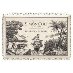 Simón Coll étcsokoládé tömb