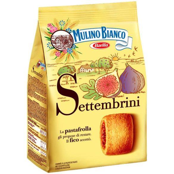 Mulino Bianco Settembrini fügével és fügelekvárral ízesített édes töltött keksz