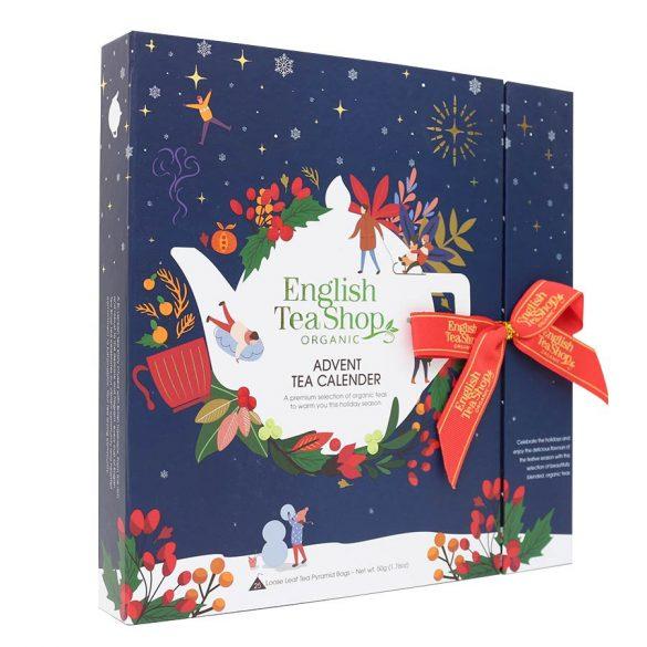 English Tea Shop adventi kalendárium kék