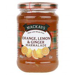 Mackays narancs, citrom, gyömbér lekvár