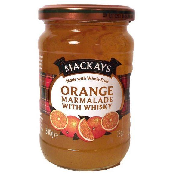 Mackays narancs lekvár whiskyvel