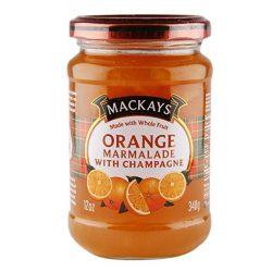 Mackays narancs lekvár pezsgővel