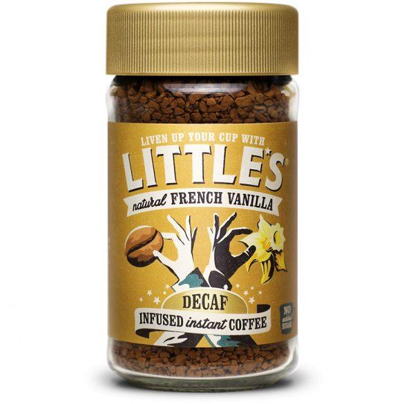 Little's instant koffeinmentes vaníliás kávé