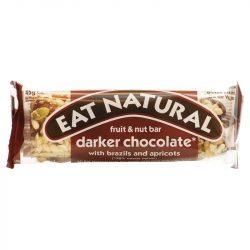 Eat natural mandulás sárgabarackos étcsokoládés müzliszelet