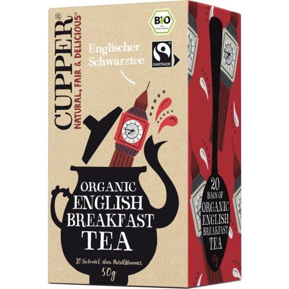 Clipper bio English breakfast tea