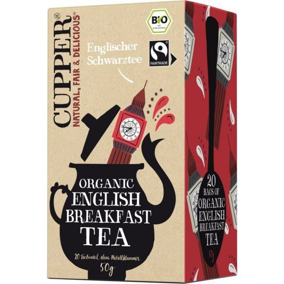Cupper bio English breakfast tea