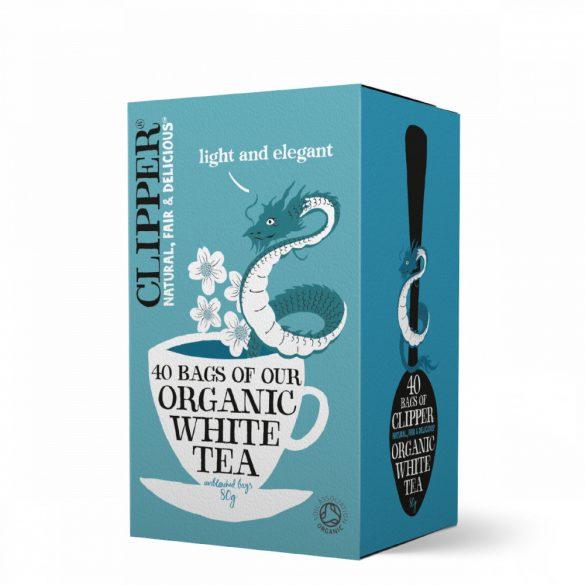 Clipper bio fehér tea 40 filter