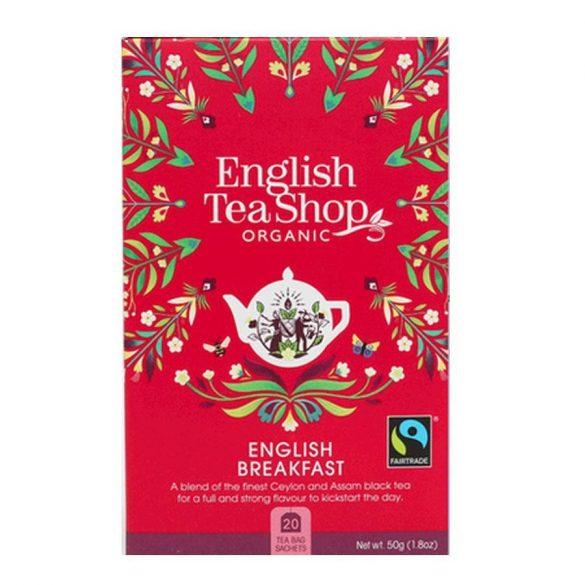 English Tea Shop bio english breakfast tea