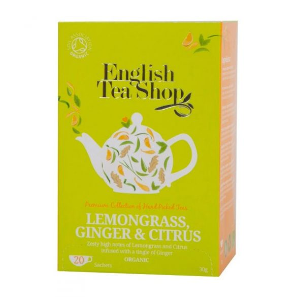 English Tea Shop bio citromfüves, gyömbéres tea