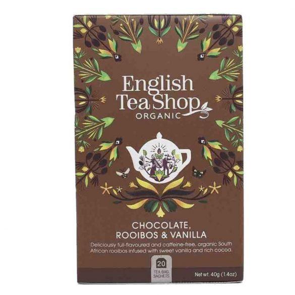 English Tea Shop bio csokoládés,vaníliás rooibos tea