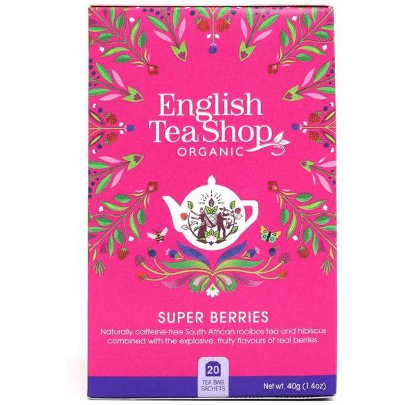 English Tea Shop bio szuper bogyós tea
