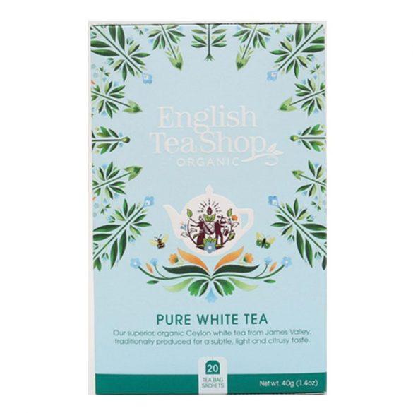 English Tea Shop bio fehér tea