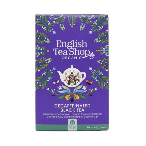 English Tea Shop bio koffeinmentes reggeli tea