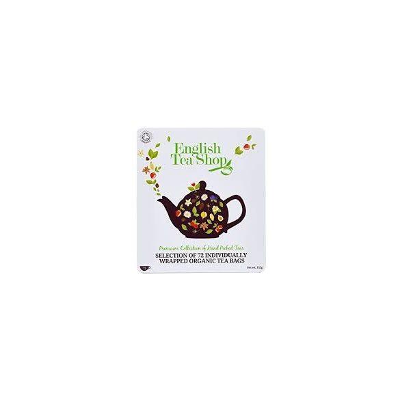 English Tea Shop 72 db-os bio prémium teaválogatás