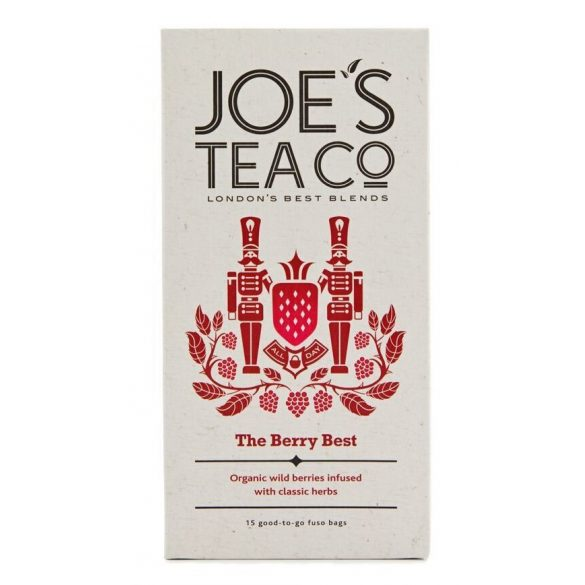 Joe's The Berry Best bogyós gyümölcsös bio tea