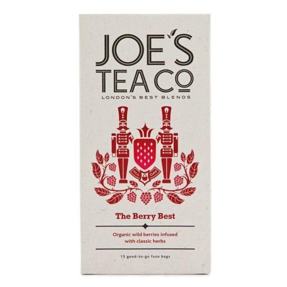 Joe's The Berry Best bogyós gyümölcsös bio tea
