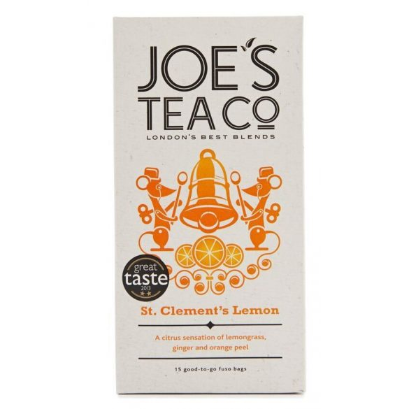 Joe's St.Clement's lemon bio tea