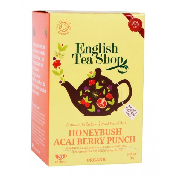 English Tea Shop bio honeybush és akai berry tea