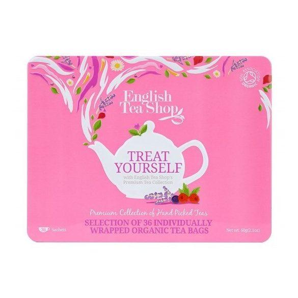 English Tea Shop 36 db-os gyümölcsös bio teaválogatás