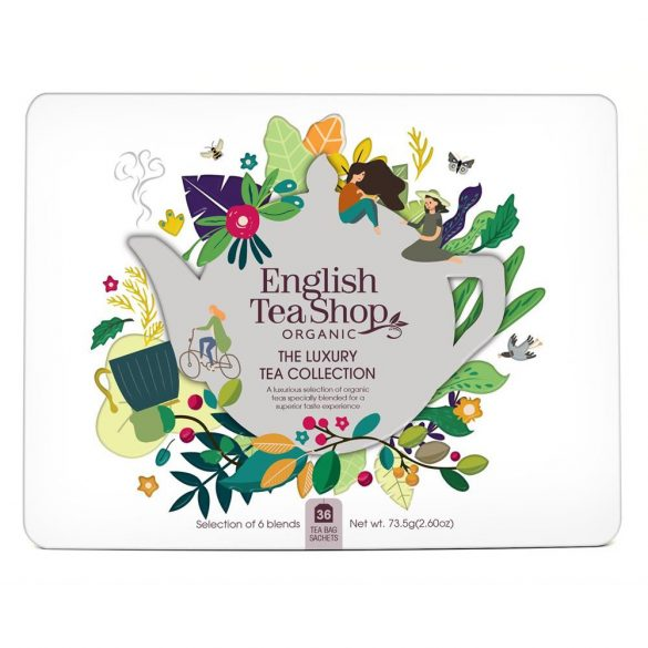 English Tea Shop 36 db-os prémium bio teaválogatás