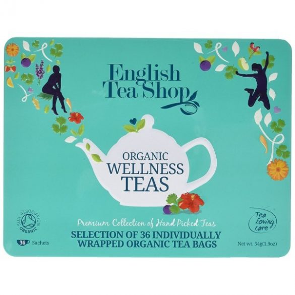 English Tea Shop bio wellness tea válogatás