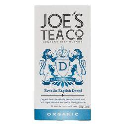 Joe's koffeinmentes fekete bio tea