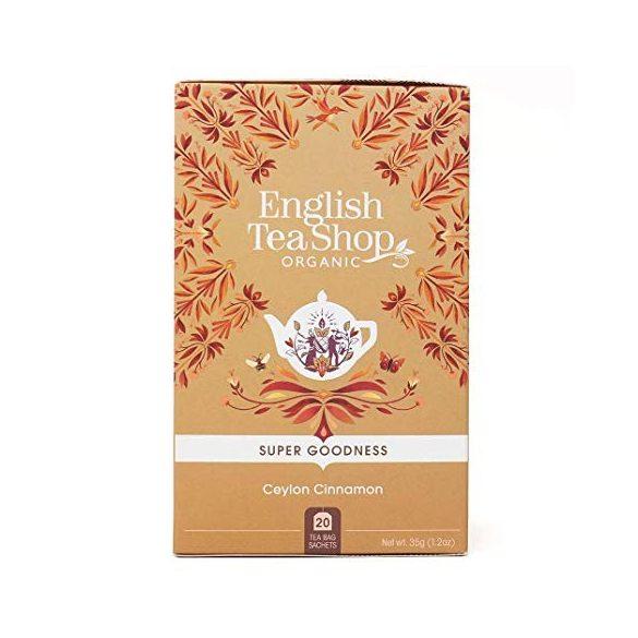 English Tea Shop bio ceyloni fahéj tea