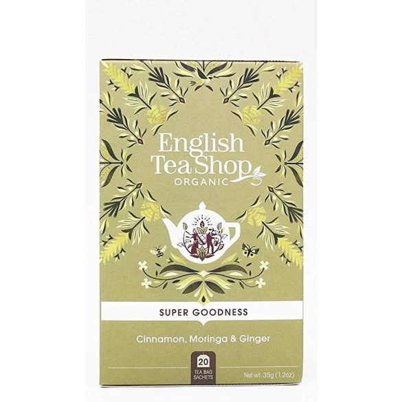 English Tea Shop bio fahéj, moringa és gyömbér tea
