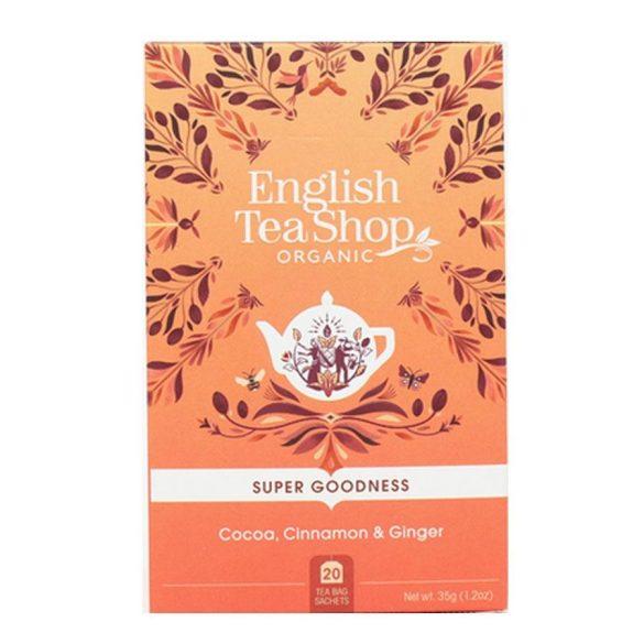English Tea Shop kakaó, fahéj és gyömbér tea
