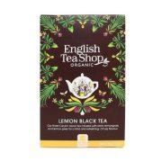 English Tea Shop citromos fekete tea